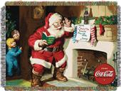 Northwest Coca-Cola Note to Santa Woven Tapestry
