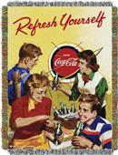 Northwest CocaCola Refresh Yourself Woven Tapestry