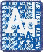 Northwest Air Force Double Play Jaquard Throw