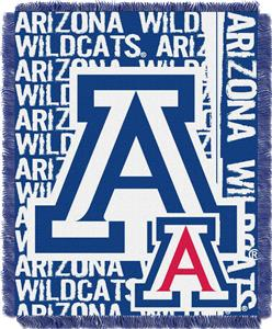 Northwest Univ. Arizona Double Play Jaquard Throw