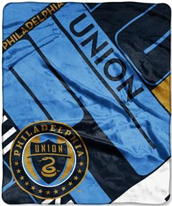 MLS Philadelphia Union Scramble Raschel Throw