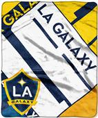 MLS LA Galaxy Scramble Raschel Throw