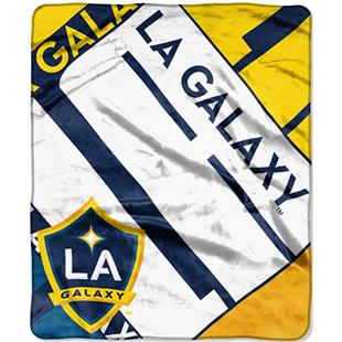 MLS LA Galaxy Scramble Raschel Throw