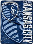 MLS Sporting KC Concrete Micro Raschel Throw
