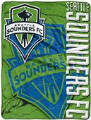 MLS Seattle Sounders Concrete Micro Raschel Throw
