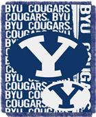 Northwest Brigham Young Double Play Jaquard Throw