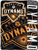 MLS Houston Dynamo Concrete Micro Raschel Throw