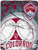 MLS Colorado Rapids Concrete Micro Raschel Throw