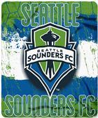MLS Seattle Sounders Blast Fleece Throw