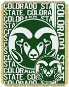 Northwest Colorado State Double Play Jaquard Throw