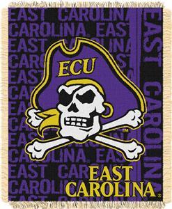 Northwest East Carolina Double Play Jaquard Throw