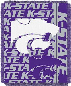 Northwest Kansas State Double Play Jaquard Throw