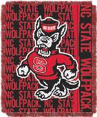 Northwest NC State Double Play Jaquard Throw