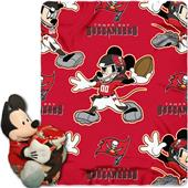 NFL Buccaneers Disney Mickey Hugger & Fleece Throw