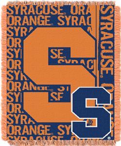 Northwest Syracuse Double Play Jaquard Throw