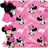 NFL Buccaneers Disney Minnie Hugger & Fleece Throw
