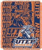 Northwest UTEP Double Play Jaquard Throw
