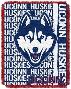 Northwest UConn Double Play Jaquard Throw