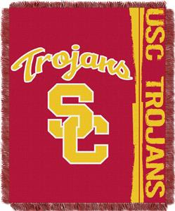 Northwest USC Double Play Jaquard Throw