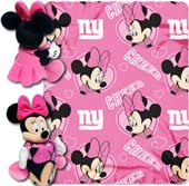 NFL Giants Disney Minnie Hugger & Fleece Throw