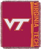 Northwest Virginia Tech Double Play Jaquard Throw