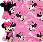NFL Panthers Disney Minnie Hugger & Fleece Throw