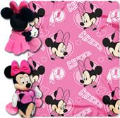 NFL Redskins Disney Minnie Hugger & Fleece Throw