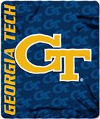 Northwest Georgia Tech Mark Repeat Fleece Throw