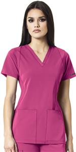 WonderWink HP Sync Womens V-Neck Scrub Top