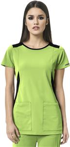 WonderWink HP Womens Neo Boat Neck Scrub Top