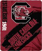 Northwest South Carolina Painted Fleece Throw