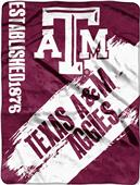 Northwest Texas A&M Painted Fleece Throw