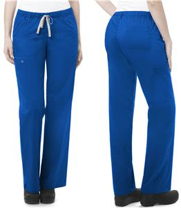 WonderWink Womens Straight Leg Cargo Scrub Pants