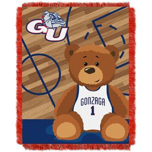 Northwest Gonzaga Half Court Baby Jacquard Throw