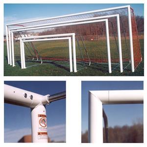 Round Aluminum Soccer Goals 8x24x3x8 (EA)
