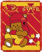 Northwest Iowa State Fullback Baby Jacquard Throw