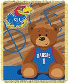 Northwest Kansas Half Court Baby Jacquard Throw