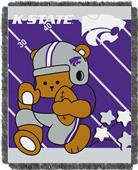 Northwest Kansas St. Fullback Baby Jacquard Throw
