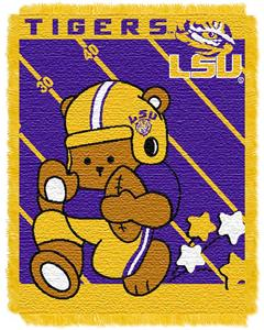 Northwest LSU Fullback Baby Jacquard Throw