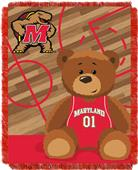 Northwest Maryland Half Court Baby Jacquard Throw