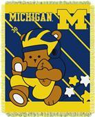 Northwest Michigan Fullback Baby Jacquard Throw
