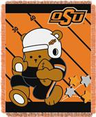 Northwest Oklahoma St Fullback Baby Jacquard Throw
