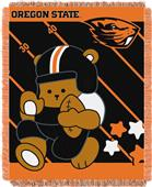 Northwest Oregon St. Fullback Baby Jacquard Throw