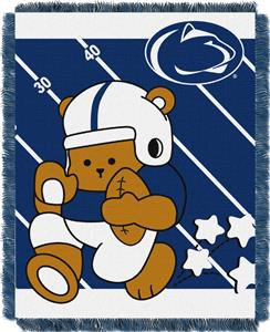 Northwest Penn State Fullback Baby Jacquard Throw