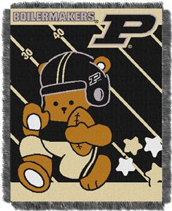 Northwest Purdue Fullback Baby Jacquard Throw