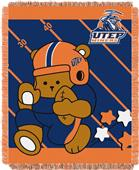 Northwest UTEP Fullback Baby Jacquard Throw