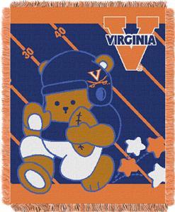 Northwest Virginia Fullback Baby Jacquard Throw