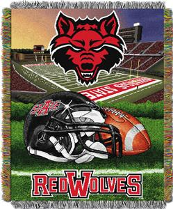 Northwest Arkansas State HFA Woven Tapestry Throw