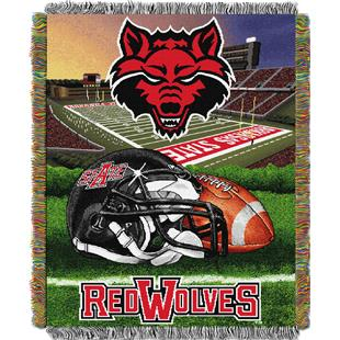 Northwest Arkansas State HFA Woven Tapestry Throw
