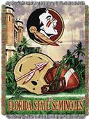 Northwest Florida State HFA Woven Tapestry Throw
